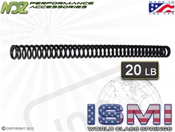 ISMI 20lb Recoil Spring for Glock Compact ONLY