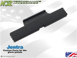 Jentra Black Extended Slide Lock Lever for Glock Gen 1-5