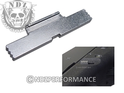 Jentra Stainless Steel Extended Slide Lock Lever for Glock 1-5