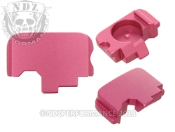 Pink Rear Slide Cover Plate for Kahr Arms | NDZ Performance
