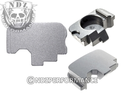 NDZ Silver Rear Plate for Kahr (*LZ)