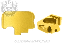 NDZ Gold Rear Plate for Kahr (*LZ)
