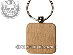 NDZ Square Wooden Key Chain (*LZ)