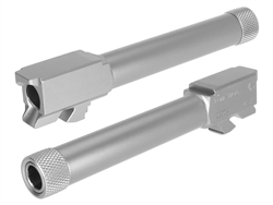 Lone Wolf Threaded Conversion Barrel to 9MM from .40 for Glock 23 32 in Stainless Steel