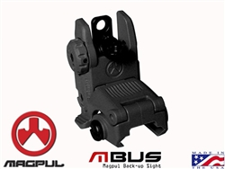 Magpul Black Tactical Flip Up Rear Sight for AR-15 MAG248
