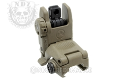 Magpul FDE Tactical Flip Up Rear Sight for AR-15 MAG248