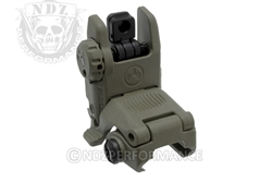 Magpul ODG Tactical Flip Up Rear Sight for AR-15 MAG248