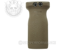 Magpul RVG Railed Vertical Grip - FDE for AR MAG412