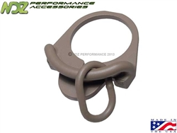 Magpul ASAP Ambidextrous Sling Attachment Point Cerakote FDE for AR MAG500