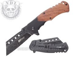 Mtech Spring Assisted Stone Wash EDC Knife MT-A1050SW | Carry Knives
