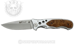 "Mtech USA 3.5 "" Manual Folding Pocket Knife MT-423SL (*LZ)"