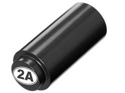 NDZ 1911 RECOIL SPRING PLUG IN ALUMINUM BLACK SECOND AMENDMENT