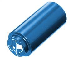 NDZ 1911 RECOIL SPRING PLUG IN ALUMINUM BLUE TEXAS STATE WITH FLAG