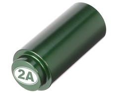 NDZ 1911 RECOIL SPRING PLUG IN ALUMINUM GREEN SECOND AMENDMENT