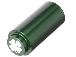 NDZ 1911 RECOIL SPRING PLUG IN ALUMINUM GREEN FOUR LEAF CLOVER