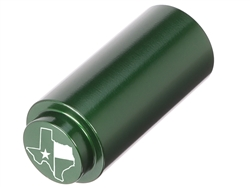 NDZ 1911 RECOIL SPRING PLUG IN ALUMINUM GREEN TEXAS STATE WITH FLAG