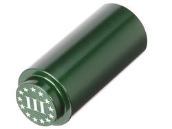 NDZ 1911 RECOIL SPRING PLUG IN ALUMINUM GREEN THREE PERCENTER WITH STARS