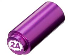 NDZ 1911 RECOIL SPRING PLUG IN ALUMINUM PURPLE SECOND AMENDMENT