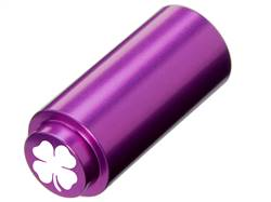 NDZ 1911 RECOIL SPRING PLUG IN ALUMINUM PURPLE FOUR LEAF CLOVER