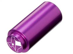 NDZ 1911 RECOIL SPRING PLUG IN ALUMINUM PURPLE TEXAS STATE WITH FLAG