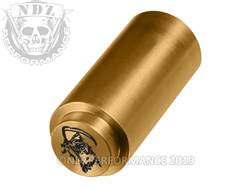 NDZ 1911 Recoil Spring Plug Grim Reaper in TiN Gold