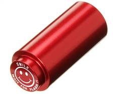 NDZ 1911 RECOIL SPRING PLUG IN ALUMINUM RED SMILE WAIT FOR THE FLASH