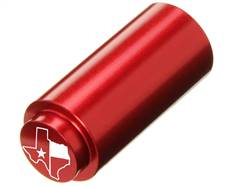 NDZ 1911 RECOIL SPRING PLUG IN ALUMINUM RED TEXAS STATE WITH FLAG