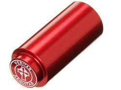 NDZ 1911 RECOIL SPRING PLUG IN ALUMINUM RED VERITAS AEQUITAS WITH CIRCLE
