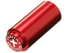 NDZ 1911 RECOIL SPRING PLUG IN ALUMINUM RED VERITAS AEQUITAS WITHOUT CIRCLE