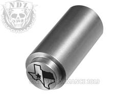NDZ 1911 Recoil Spring Plug Texas State Flag in SST