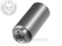 NDZ 1911 Recoil Spring Plug Masonic Square & Compass Inv in SST