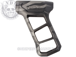 Valkyrie AK-47 74 Pistol Grip by NDZ Black & Tungsten Tiger Stripe