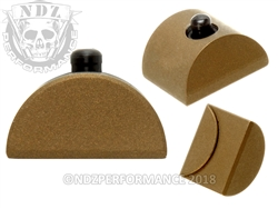 Aftermarket Glock Gen 1-3 Grip Plug Cerakote Burnt Bronze | NDZ Performance
