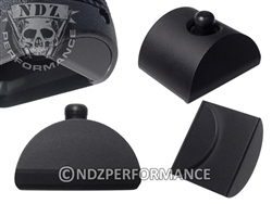 NDZ Glock Gen 1-3 Customizable AL1 Black Grip Plug