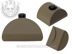 NDZ Glock Gen 1-3 Customizable AL1 HC FDE Grip Plug