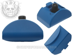 NDZ Cerakote Ridgeway Blue Grip Plug AL6 No Backstrap for Glock Gen 4-5
