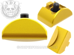 NDZ Gold Grip Plug AL6 No Backstrap for Glock Gen 4-5 (*LZ)
