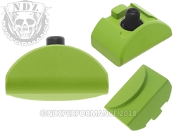 NDZ Cerakote Zombie Green Grip Plug AL6 No Backstrap for Glock Gen 4-5