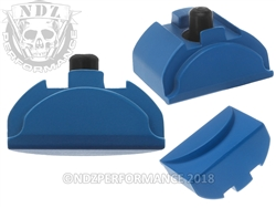 Aftermarket Glock Gen 4 -5 Grip Plug In Cerakote Ridgeway Blue - Backstrap Compatible | NDZ Performance