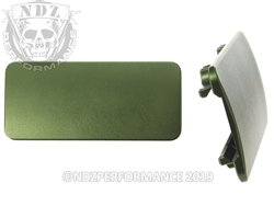 AR-15 Aftermarket Picatinny Rail Cover - 3 inch Green | NDZ Performance