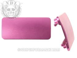 AR-15 Aftermarket Picatinny Rail Cover - 3 inch Pink | NDZ Performance