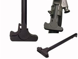 AR-15 Charging Handle with Latch Plain Black