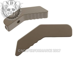 NDZ Gun Kote FDE Collapsible Stock Lever for AR-15, SW 15-22