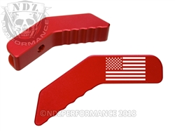 Aftermarket Red Collapsible Stock Lever - Ar-15 S&W 15-22 | NDZ Performance