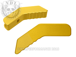 Aftermarket Gold Collapsible Stock Lever - Ar-15 S&W 15-22 | NDZ Performance