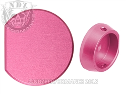 NDZ Performance Aftermarket Pink Forward Assist Button for AR-15