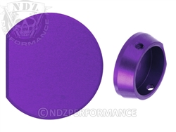 NDZ Purple Forward Assist Button for AR-15 (*LZ)