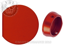 NDZ Red Forward Assist Button for AR-15 (*LZ)