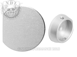 NDZ Performance Aftermarket Silver Forward Assist Button for AR-15