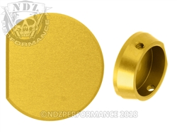 NDZ Gold Forward Assist Button for AR-15 (*LZ)
